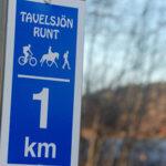 Running in Tavelsjö